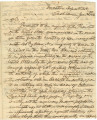 Letter from Governor Clement C. Clay in Tuscaloosa, Alabama, calling for two thousand volunteers...