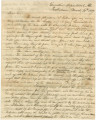 Letter from Governor Clement C. Clay in Tuscaloosa, Alabama, to Major General Thomas S. Jesup in...