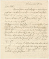 Letter from T. Parkin, a merchant in Claiborne, Alabama, to John R. Parker in Boston,...