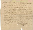 Bill of sale for a slave bought by Reuben Bennett from Richard Cooper.