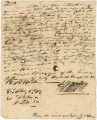 "Letters from J. Hamilton in West Florida, to James Caller on the Tombigbee (""Tombecbee"")..."