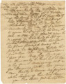 Letter from John Hanes in Franklin in Washington County of the Mississippi Territory (later...