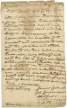 Letter from James Caller to Ferdinand L. Claiborne at Baton Rouge.