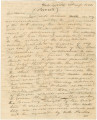 Letter from Governor George M. Troup in Milledgeville, Georgia, to Joel Crawford, Richard Blount,...
