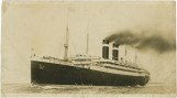 Postcard of the S.S. Lapland, sent by George Moses to his brother.