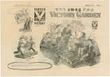 """1945 Victory Garden"" advertisements from Metro Newspaper Service."