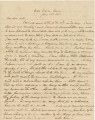 Letter from Henry Semple in Wartrace, Tennessee, to his wife, Emily.