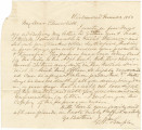 Letter from G. William Semple in Richmond, Virginia, to his brother, Henry (Churchill).
