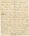 "Receipt for shelled corn and fodder (""forage for ten days for eight mules in the public..."