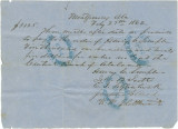 Promissory note from five men in Montgomery, Alabama, agreeing to pay Henry C. Semple $5,125 on...