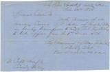 Special order issued Major T. R. Hotchkiss, authorizing the transfer of a soldier from Semple's...