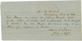 Letter from Samuel G. Jones, engineer and superintendent of the Alabama and Florida Railroad...