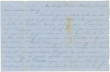 Letter from Alex K. Hall in camp at Dalton, Georgia, to his brother, Charlie, at a boarding school...