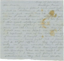 Letter from Bolling Hall, Jr., in camp at Dandridge, Tennessee, to his sister, Laura, in Alabama.
