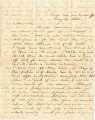 Letter from Bolling Hall, Jr., in camp three miles from the Cumberland Gap, to his sister,...