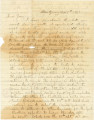 Letter from Bolling Hall in Montgomery, Alabama, to his son, Tom, probably at the University of...