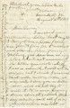 Letter from John E. Hall at Union Mills, Virginia, to his sister, Laura, in Alabama.