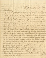Letter from Crenshaw Hall at the Cumberland Gap, to his sister, Laura, in Alabama.
