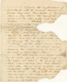 Account of Indian activity in and around St. Augustine, Florida, in 1837, possibly related to the...