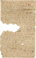 Fragments of a diary kept by Frederick Weedon during the Seminole War of 1836.