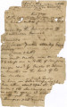 Pages from a diary or notebook, possibly written after June 2, 1837, when Osceola and Sam Jones...