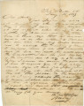 Letter from Mary at Fort Butler in South Carolina, to Dr. F. Weedon in St. Augustine, Florida.