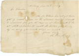 Letter from R. Orr Craig in Albany, New York, to Dr. Weedon.