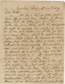 Incomplete letter from Crenshaw Hall in trenches at Petersburg, Virginia, to his father, Bolling,...