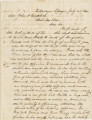 Letter from R. W. Walker in Talladega Springs, Alabama, to Assistant Secretary of War John A....