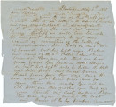 Letter from Bolling Hall at his plantation near Montgomery, Alabama, to his son, Bolling, Jr.