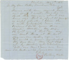 Letter from Bolling Hall at his plantation near Montgomery, Alabama, to his sons, Bolling, Jr.,...