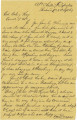 Letter from Van Derveer at Alabama Clothing Department in Richmond, Virginia, to Bolling Hall, Jr.
