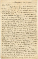 Letter from Crenshaw Hall in Morristown, Tennessee, to his father, Bolling, in Alabama.
