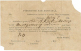 Pass granting Bolling Hall, Jr., a twenty-day furlough to Montgomery, Alabama.