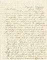 Letter from Bolling Hall, Jr., in camp near Knoxville, Tennessee, to his father in Alabama.