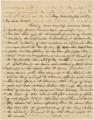 Letter from Crenshaw Hall near Knoxville, Tennessee, to his father, Bolling, in Alabama.