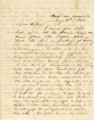 Letter from Bolling Hall, Jr., in camp near Maynardville, Tennessee, to his father in Alabama.