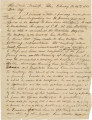 Letter from Joseph H. Hall in Manack, Alabama, to Bolling Hall, probably in Montgomery or Autauga...