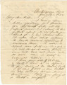 Letter from Bolling Hall, Jr., in Chattanooga, Tennessee, to his father in Alabama.