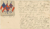Postcard from William L. Cameron in Galveston, Texas, to Mrs. J. T. (Anna Maria Gayle) Fry in...