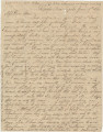 Letter from Newton N. Davis in camp near Tupelo, Mississippi, to his wife, Bettie, in Columbus,...