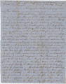 Letter from Newton N. Davis in camp near Saltillo, Mississippi, to his wife, Bettie, in Columbus,...