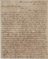 Letter from Newton N. Davis in camp near Shelbyville, Tennessee, to his father-in-law, Xenophon...
