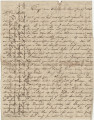 Letter from Newton N. Davis in camp near Shelbyville, Tennessee, to his wife, Bettie, in Columbus,...