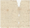 Letter from Newton N. Davis in Tullahoma, Tennessee, to his wife, Bettie, in Columbus, Mississippi.