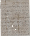 Letter from Newton N. Davis at Missionary Ridge in Tennessee, to his wife, Bettie, in Columbus,...