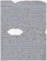 Letter from Newton N. Davis in camp near Dalton, Georgia, to his wife, Bettie, in Columbus,...