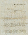 Letter from William Hunter in Northampton, Massachusetts, to his brother, Thomas, in Sacramento,...