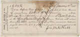 Promissory note for $600 to be paid by Joseph E. Hall to Robert McElvenny in Denver, Colorado.