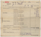 Receipt for $6.48 paid by Joseph E. Hall for real estate taxes in Elmore County, Alabama.
